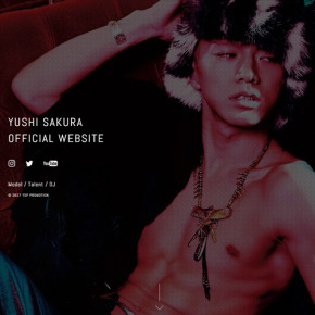 YUSHI SAKURA OFFICIAL SITE が遂にOPEN!!